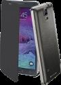 cellularline Flip Book - Für Galaxy Note 4 - Schwarz