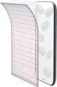 cellularline Ok Display Anti-Trace - Pour 7 Tablets - Transparent