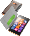 cellularline Book Essential Pocket - Schutztasche im Book-Style - Für Microsoft Lumia 535 - Schwarz