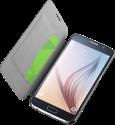 cellularline Book Essential Pocket - Für Galaxy S6 - Schwarz