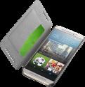 cellularline Book Essential Pocket - Schutztasche im Book-Style - Für HTC One M9 - Schwarz