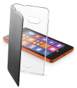 cellularline Clear Book - Für Microsoft Lumia 535 - Schwarz