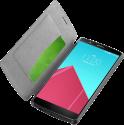 cellularline Book Essential Pocket - Schutztasche im Book-Style - Für LG G4 - Schwarz