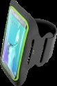 cellularline ARMBANDFIT55K - Bracelet Fitness - Microfibre - Noir