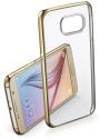 cellularline Clear Crystal - Für Samsung Galaxy S6 - Gold
