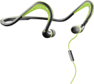 cellularline Scorpion - Écouteurs In-Ear - Certification IPX5 - Noir/Vert