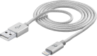 cellularline USB zu Lightning Datenkabel - Silber