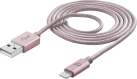 cellularline USB zu Lightning Datenkabel - Roseold