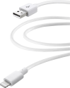 cellularline USB zu Lightning Datenkabel - Weiss