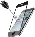cellularline SECOND GLASS ULTRA CAPSULE - Für Iphone 6/6S - Schwarz