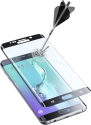 cellularline SECOND GLASS CURVED - Für Samsung Galaxy S6 Edge Plus - Schwarz