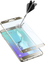 cellularline SECOND GLASS CURVED - Für Samsung Galaxy S6 Edge Plus - Gold