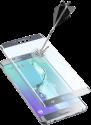 cellularline SECOND GLASS CURVED - Für Samsung Galaxy S6 Edge Plus - Silber