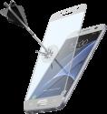 cellularline SECOND GLASS CAPSULE - Für Samsung Galaxy S7 - Weiss