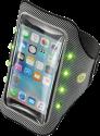 cellularline ARMBANRLIGHT52K - Bracelet en cours d'exécution - Lumière à LED - Noir/Gris
