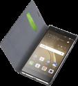 cellularline Book Essential Pocket - Schutztasche im Book-Style - Für Huawei P9 Plus - Schwarz