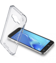 cellularline Clear Duo - Pour Samsung Galaxy J3 (2016) - Transparent