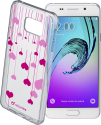 cellularline Style Case Heart - Für Samsung Galaxy A3 (2016) - Transparent