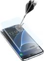 cellularline SECOND GLASS ULTRA CURVED - Für Samsung Galaxy S7 Edge - Transparent
