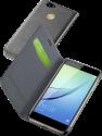 cellularline Book Essential Pocket - Schutztasche im Book-Style - Für Huawei Nova - Schwarz