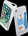 cellularline Flex Pocket - für iPhone 7/8 - Transparent
