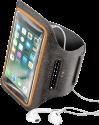 cellularline ARMBANDFITSUM551 - Bracelet Fitness - Lycra - Noir
