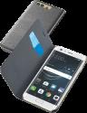 cellularline Book Essential Pocket - Schutztasche im Book-Style - Für Huawei P10 - Schwarz