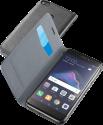 cellularline Book Essential Pocket - Schutztasche im Book-Style - Für Huawei P8 Lite 2017 - Schwarz