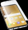cellularline Curved Schutzfolie - Für Samsung Galaxy S8 Plus - Transparent