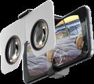 cellularline ZION VR Origami - Casque de réalité virtuelle - Pour Smartphone - Noir