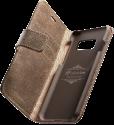 cellularline SUPREME 38588 - Livre de poche à rabat - Pour Galaxy S8 - Marron