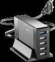 cellularline Stazione di ricarica - 5 x USB - Nero