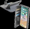 cellularline BOOK AGENDA - Für Apple iPhone X - Schwarz