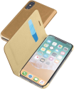 cellularline BOOK ESSENTIAL - Für Apple iPhone X - Braun