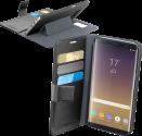 cellularline Book Agenda - Per Samsung Galaxy Note 8 - Nero