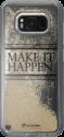 cellularline Stardust - Coque - Pour Samsung Galaxy S8 - MAKE IT HAPPEN