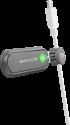 cellularline Cable Manager - Mit doppeltem Magnetclip - Schwarz