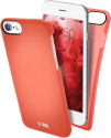 sbs Cover ColorFeel - Pour Apple iPhone 8/7/6S/6 - Rouge