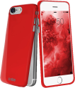 sbs Cover Extra Slim - Pour Apple iPhone 8/7 - Rouge