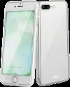 sbs Crystal 360° - Per iPhone 8 Plus / 7 Plus - Trasparente