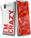 sbs Cover - Pour Apple iPhone X - I'm Crazy