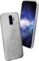 sbs Sparky Glitter - Pour Samsung Galaxy S9+ - Argent