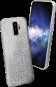sbs Sparky Glitter - Per Samsung Galaxy S9+ - Argento