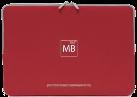 TUCANO Second Skin Elements Graphics MacBook Pro 15, rosso