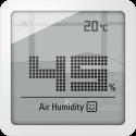 Stadler Form Selina Little - Hygrometer - Luftfeuchtigkeits-/ Temperaturanzeige - Weiss