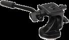 Manfrotto 128RC Micro Fluid - Videokopf - Schwarz