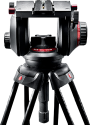 Manfrotto 509HD Pro Fluid - Rotule trépied - Noir