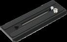 Manfrotto 504PLONG - Video-Kameraplatte - Schwarz