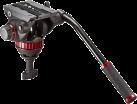 Manfrotto MVH502A Pro Fluid - Stative - Aluminium - Schwarz