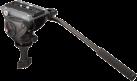 Manfrotto  MVH500A Half Bal 60mm - Videokopf - Aluminium - Schwarz